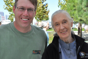 Jane Goodall Delivers Hope for Animals