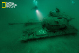 Creating Reefs with Tanks and Ships